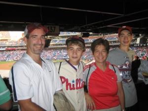 (l-r) Rick, Kevin, Mary & Michael