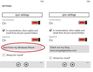 change-wp7-email-signature