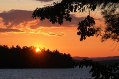 Sunset from Tuftonboro