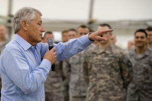 Sec. Hagel, 2013; climateandsecurity.org