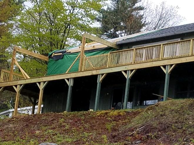 Porch addition051417